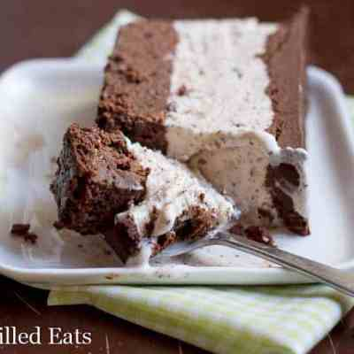 Mint Chocolate Chip Ice Cream Cake – Low Carb Keto