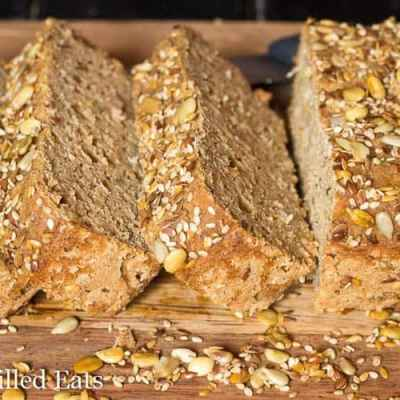 Sprouted Quinoa Bread – Low Fat, Gluten Free, THM E