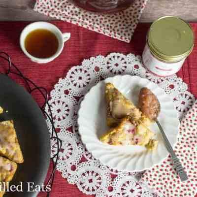 Strawberry Lemon Tea Cakes – Low Carb, THM S
