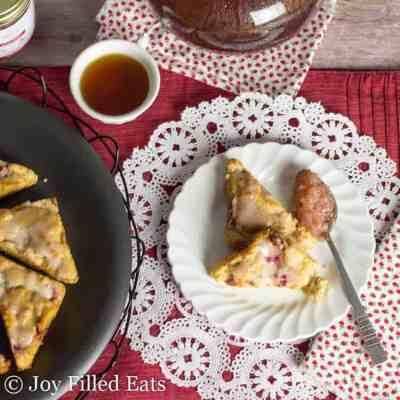Strawberry Lemon Cake – Low Carb, Keto, THM S