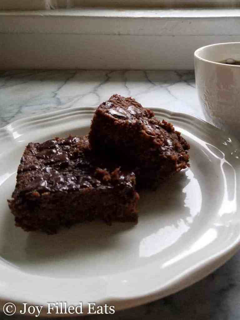 Hannah's Fabulous Brownies - Low Carb, Sugar Free, Gluten Free, Dairy Free, THM S