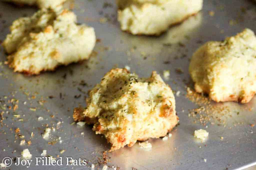 Herb Biscuits - Low Carb, Grain Free, Gluten Free, THM S