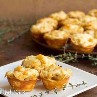 French Onion Tartlets – Low Carb, Grain Free, THM S