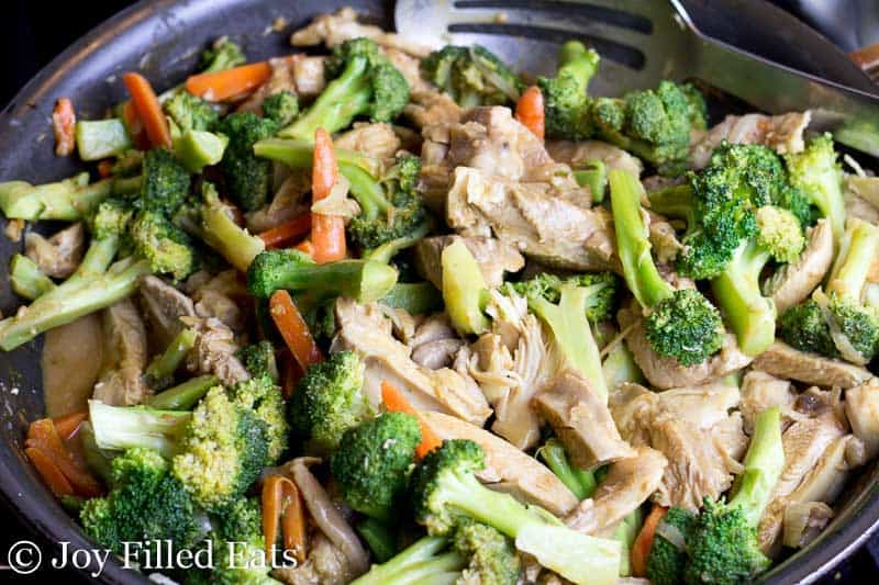 Thai Peanut Chicken & Broccoli - Low Carb, Grain Free, THM S