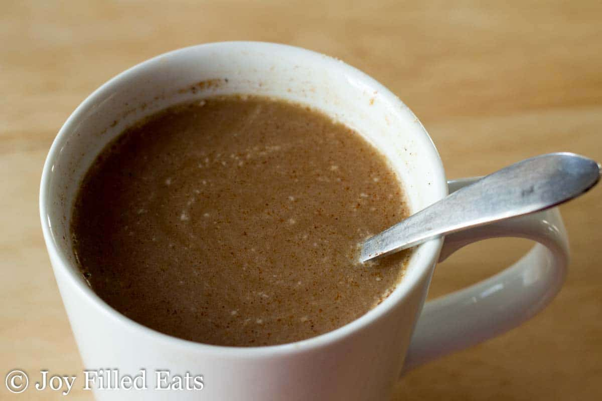 Instant Chai Tea Mix - Low Carb, Sugar Free, THM S with FP and dairy free options
