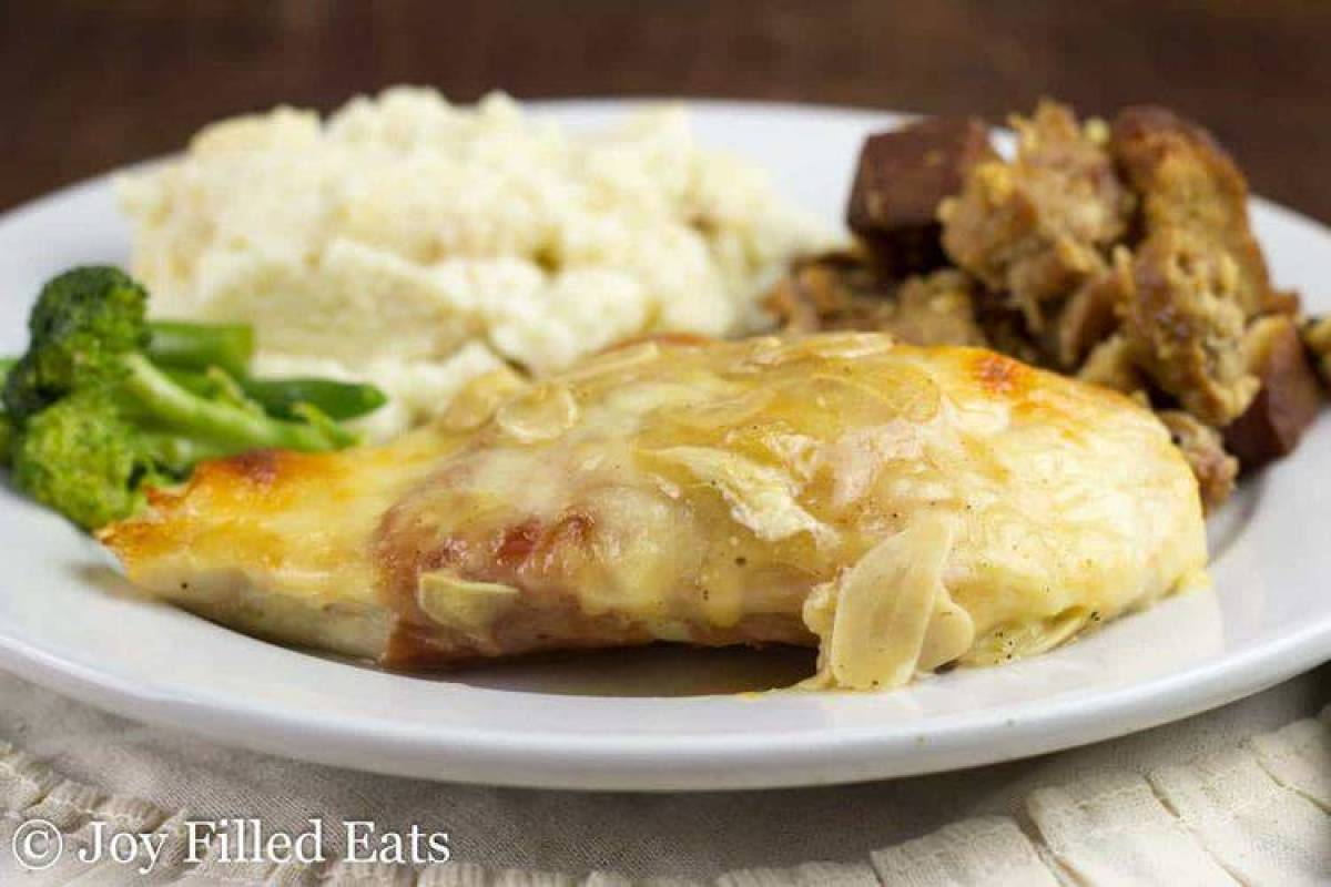 Chicken Saltimbocca - Low Carb, THM S