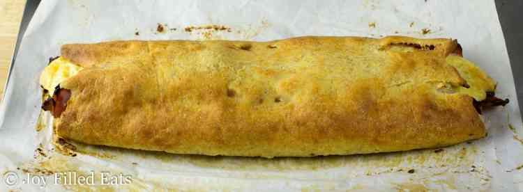 Loaded Stromboli - Low Carb, Grain Free, THM S
