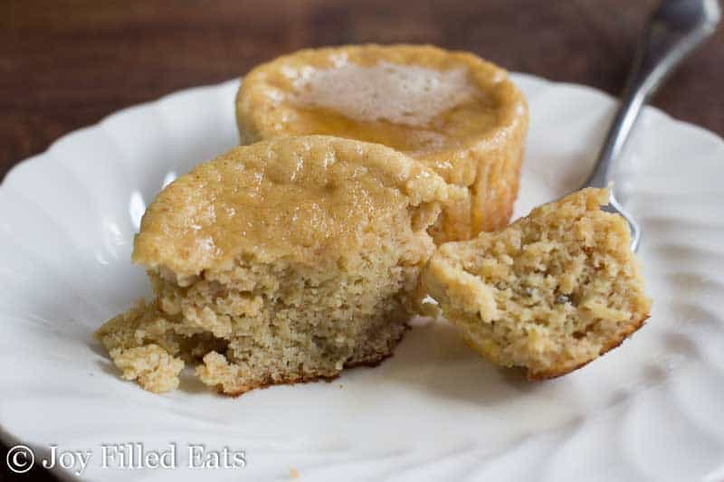 Warm Chai Pancake Muffins - Low Carb, Grain Free, THM S