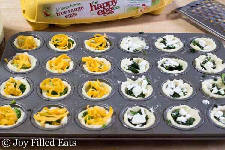 Classic Mini Quiches - Low Carb, Grain Free, THM S