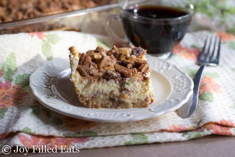 Butter Pecan Cheesecake Bars - Low Carb, Grain & Sugar Free, THM S