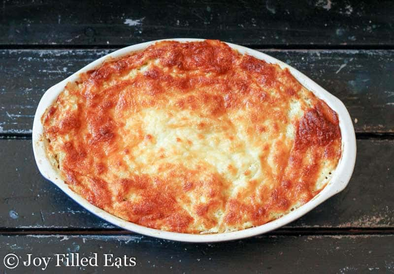 Twice Baked Spaghetti Squash - THM FP, Low Carb