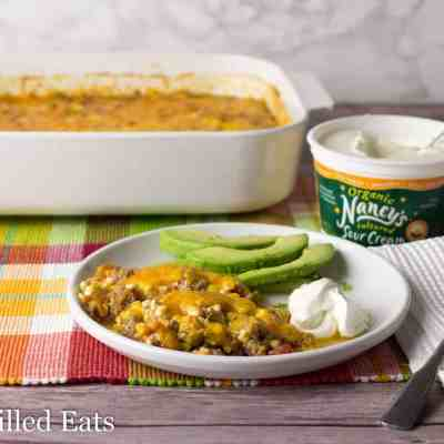 Easy Mexican Taco Casserole