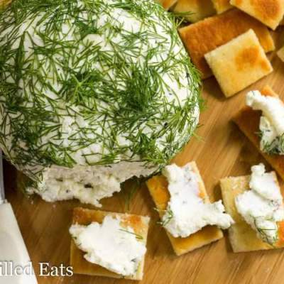 Feta & Dill Cheese Ball – Low Carb, Grain Free, THM S