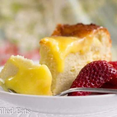 Triple Layered Lemon Cake – Low Carb, Grain Free, THM S