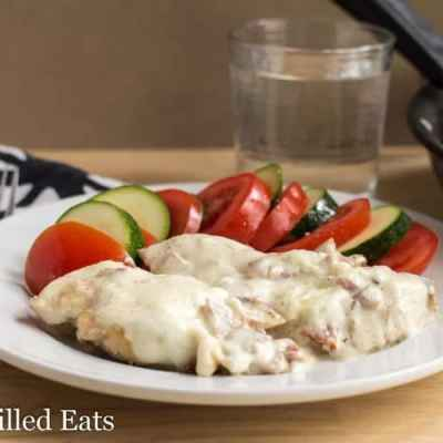 Easy Skillet Chicken Cordon Bleu