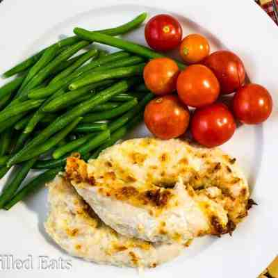 Five Minute Garlic Parmesan Chicken Tenders