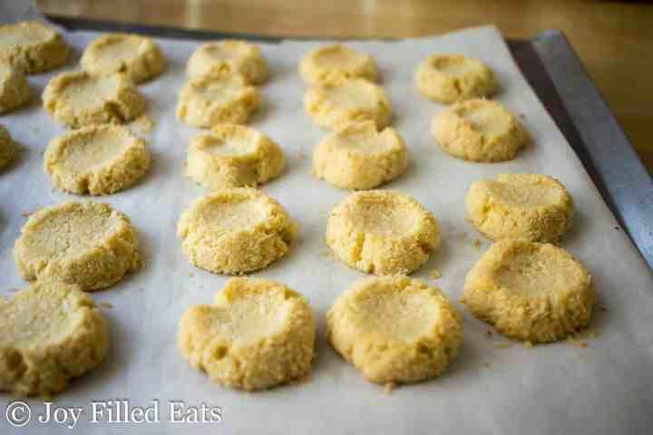 Baked Low Carb Jam Thumbprint Cookies