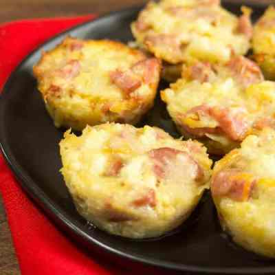 """Smokey """"Mac"""" and Cheese Bites – Low Carb, THM S"""