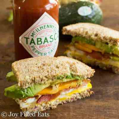 The Loaded Egg Sandwich THM Low Carb Keto Options