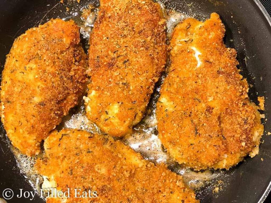 Super Low Carb Gluten Free Southern Style Breaded Chicken Breast