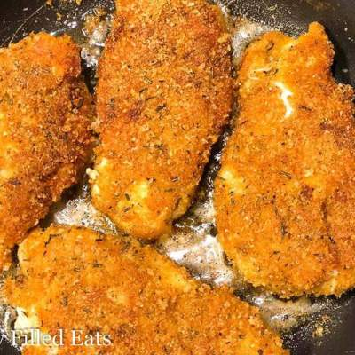 Low Carb Gluten Free Southern Breaded Chicken Breast