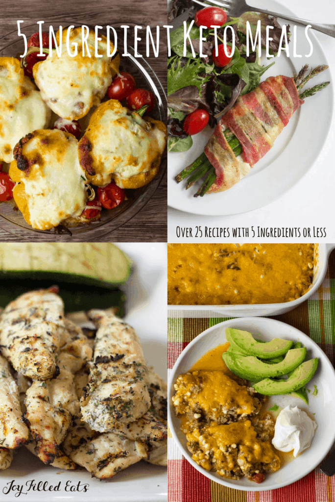Easy Keto Meals 5 Ingredients Or Less 25 Low Carb Entrees