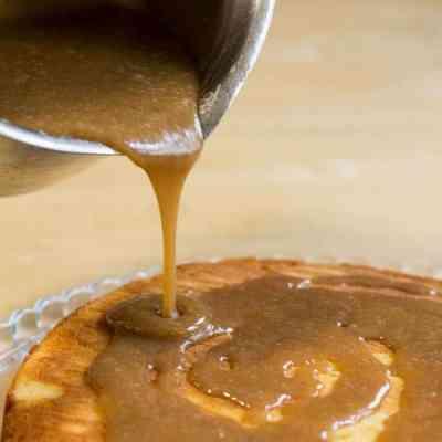 Sugar Free Salted Caramel Sauce
