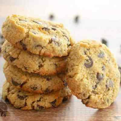 Eggless Chocolate Chip Cookies Recipe Low Carb Keto