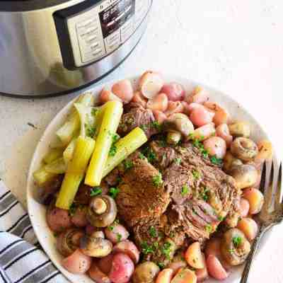 Instant Pot Beef Roast Recipe Low Carb Keto Easy