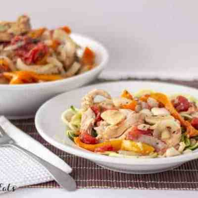Slow Cooker Chicken Cacciatore Recipe Low Carb