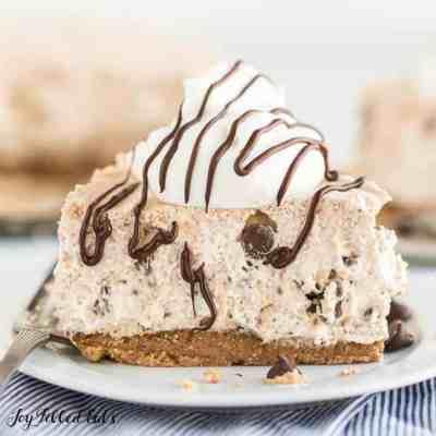 Cannoli Cheesecake Low Carb No-Bake Sugar-Free Keto
