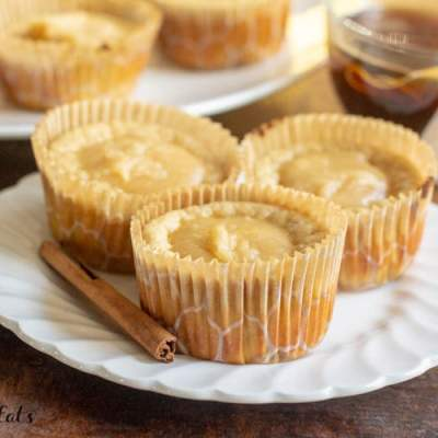 Warm Chai Pancake Muffins – Low Carb, Keto, THM S