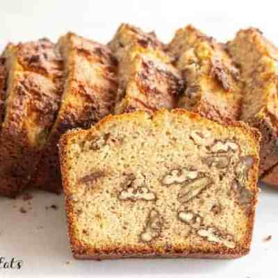 Keto Banana Bread – Low Carb, Gluten-Free