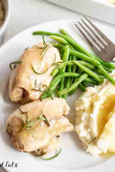 Rosemary Chicken – Low Carb, Keto, Gluten-Free, THM S