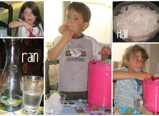 rain hail