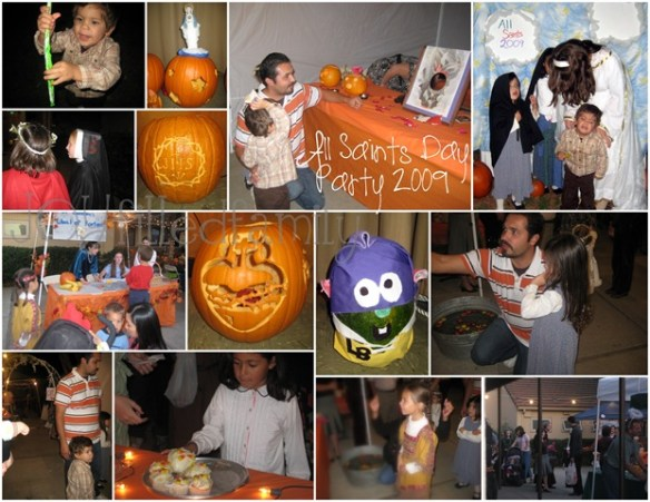 2009-11-02 all saints day party