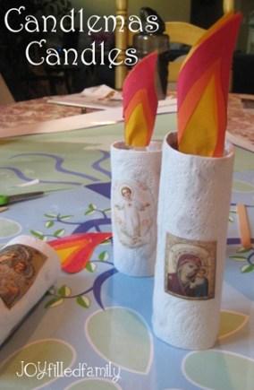 candlemas candles joy