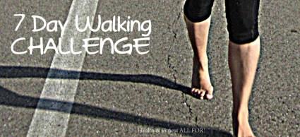 7 Day Walking Challenge