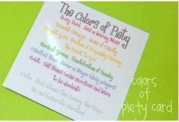 Colors of Piety Card RMGS JOYfilledfamily