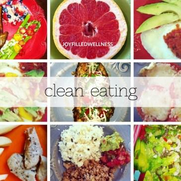 clean eating joyfilledwellness