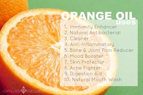 Close-up of half of juicy orange