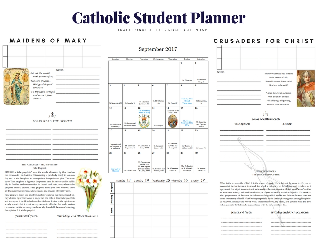 planners for students