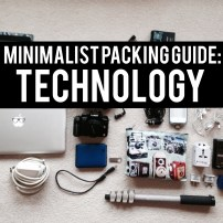 Technology: Minimalist Packing Guide