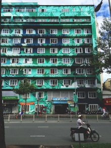 Beautiful painted building