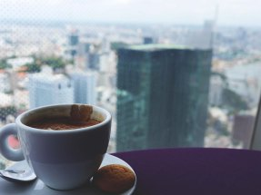 Coffee at Bitexco Tower