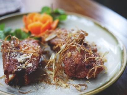 Deep fried pork spare rib