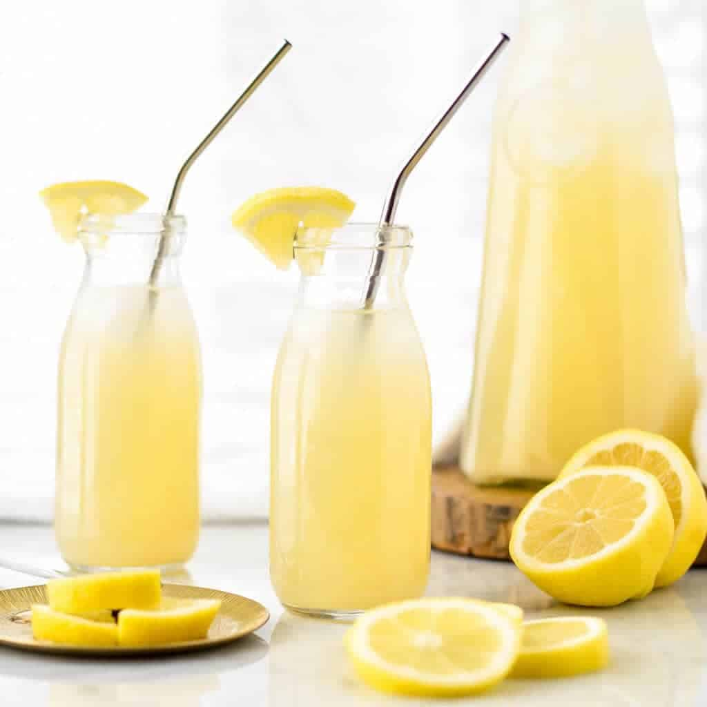 Healthy Lemonade Recipe With Orange Blossom