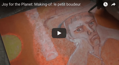 "Making-of: watch the birth of the ""pouting boy"""