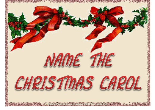 Name the Christmas Carols – Printable Game