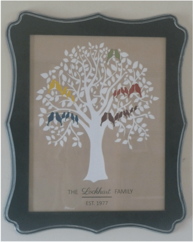Quiver Full,  Family Tree, Wall Decor   Life in NC